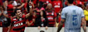 Henrique Dourado voltou a marcar com a camisa rubro-negra
