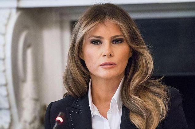 Melania Trump escolhe roupas para incomodar o presidente Trump, diz ex-secretaria Omarosa