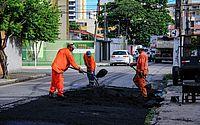 Prefeitura intensifica obras de pavimentação em corredores de transporte