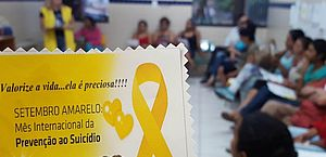 Palestra de prevenção ao suicídio acontece em Maceió