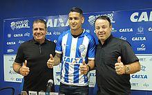 Raimundo Tavares (esquerda), Matheus Lopes e Fabiano Melo