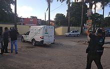 Corpo do vereador foi levado para o IML.