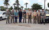 Comandante da PM visita o Batalhão Rodoviário para discutir plano de ações