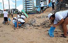 Recolhimento aconteceu no Dia Mundial da Limpeza das Praias
