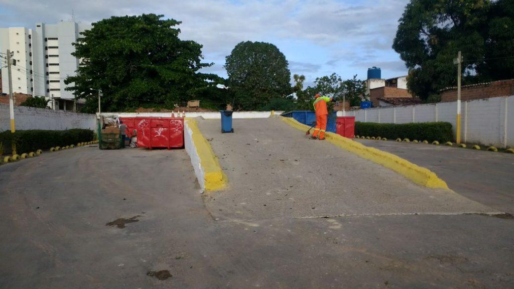 Ecoponto fica na Rua Campos Teixeira, s/n, Pajuçara
