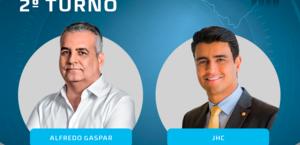 Alfredo Gaspar e JHC só podem fazerpropaganda eleitoral no rádio e TV até esta sexta-feira
