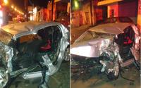 Homem morre após carro bater em pá carregadeira na BR-104; vídeo