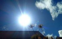 Primeiro fim de semana de outono tem máxima de 38º C no Sertão; veja previsão