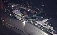Criança morre e sete pessoas ficam feridas após carro colidir com animal em Dois Riachos