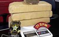 Polícia encontra três quilos de droga enterrada em Pão de Açúcar