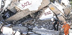 Bombeiros localizam 8º corpo em escombros de prédio em Fortaleza