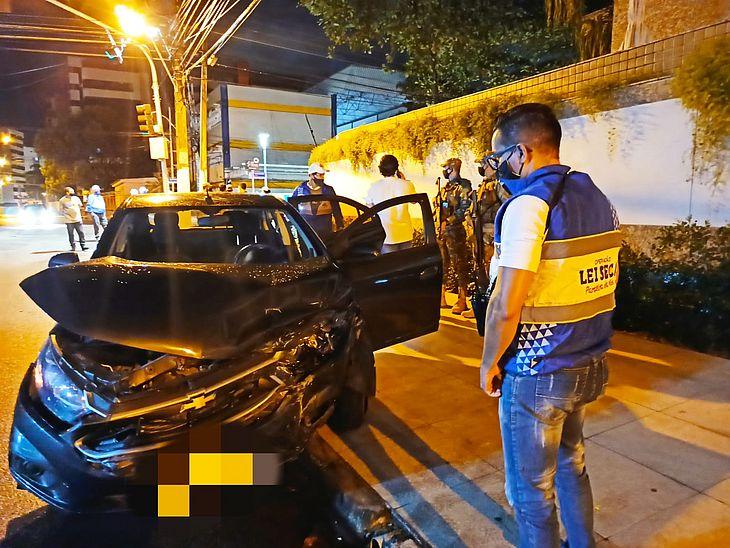 Três motoristas foram presos em flagrante
