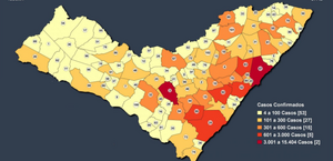 Covid: Alagoas inicia mês de julho com 36.819 casos e 1.072 óbitos