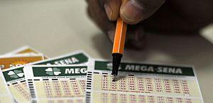 Mega-Sena sorteia nesta quarta-feira prêmio estimado em R$ 3 milhões