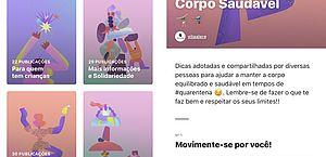 Instagram estreia recurso no Brasil com foco em saúde mental
