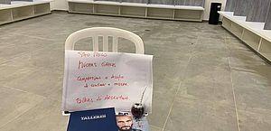 Talleres dá exemplo, limpa vestiário, deixa recado e presente para o São Paulo