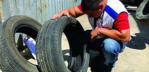 Combate à dengue: Maceió promove mutirão de coleta de pneus a partir desta segunda