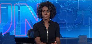 Maju estreia na bancada do JN e se torna 1ª mulher negra a apresentar o telejornal