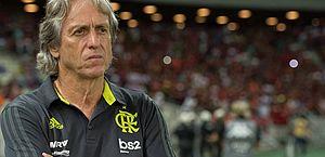 Jorge Jesus está com suspeita de coronavírus; Flamengo realiza contraprova