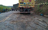 Colisão entre caminhão e trator deixa uma pessoa morta na AL 105
