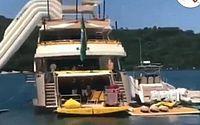 Luciano Huck é filmado com a família em seu iate de R$ 30 milhões; vídeo