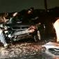 Motorista morre após poste cair sobre carro em colisão na via Expressa; veja vídeo
