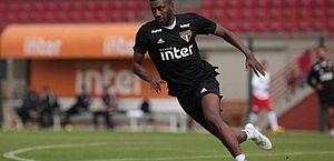 Atacante reaparece no São Paulo e diretoria deve multar jogador por indisciplina