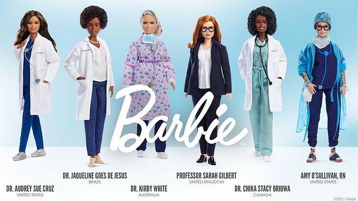 """Além de Jaqueline, a iniciativa que faz parte da linha """"Mulheres Inspiradoras"""", homenageou outras cinco cientistas com a boneca"""