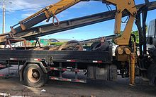 Dois homens são presos tentando furtar postes e 4,8km de cabo de alumínio