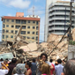 Desabamento em Fortaleza: bombeiros confirmam dois mortos