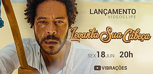 """Banda Vibrações lança Clipe do single """"Levanta sua Cabeça"""" nesta sexta-feira (18)"""