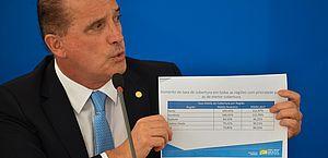 Ministro também ressaltou que o Bolsa Família chegará a 14 milhões de beneficiários em abril