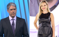 William Bonner rompe com a Globo e Eliana volta para a Record, diz sensitiva