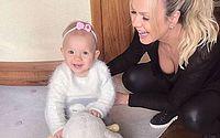 Eliana e filha Manu