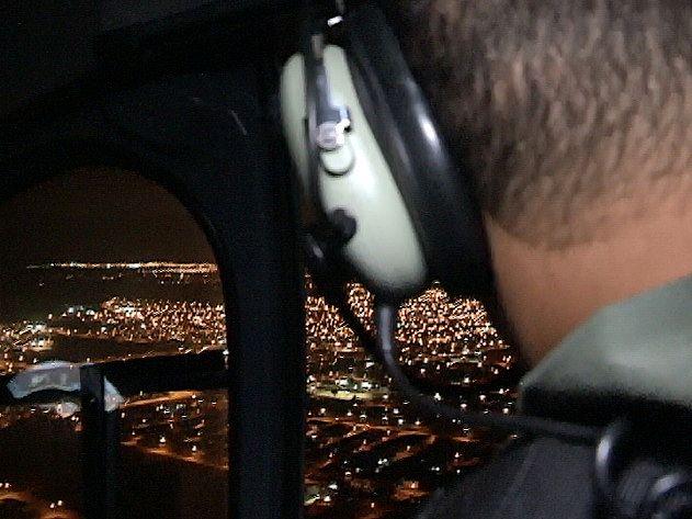 SSP realizou buscas aéreas na noite desse domingo