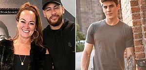 Namorado da mãe de Neymar 'surtou' após beber e quebrou celular; Nadine chorou muito