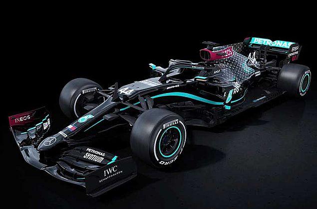 Mercedes terá carro preto na F-1 como parte de campanha antirracista