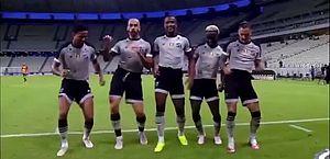 Vídeo: após gol, jogadores do Ceará dançam hit 'O Carpinteiro' e viralizam