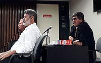 Réus, coronel Cavalcante e Marcos Cavalcante, e o advogado Givan Lisboa, que deve alegar tese de clemência