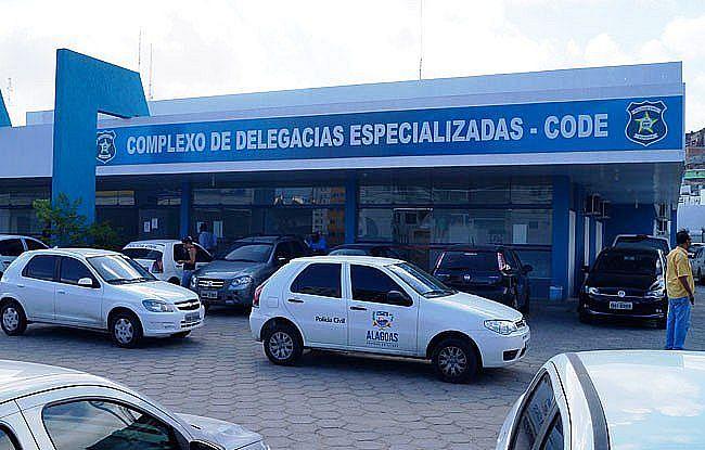 O preso foi levado ao Complexo de Delegacias Especializadas (Code), no bairro Mangabeiras