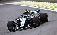 Bottas comanda dobradinha da Mercedes no 2º treino livre do GP do Brasil