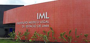 O corpo foi levado para o IML