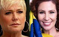Xuxa perde processo de R$ 150 mil de indenização contra Carla Zambelli