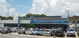 Acusado foi levado para o Complexo de Delegacias Especializadas, na Mangabeiras