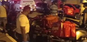 Pedido cancelado em aplicativo termina em ameaça e protesto de entregadores em Maceió