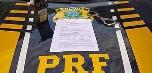 PRF prende dois motoristas por embriaguez ao volante
