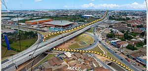 Segundo túnel do Viaduto da PRF será interditado a partir desta terça (06)