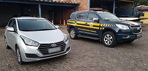 PRF recupera carro locado há três anos e motorista é detido por apropriação indébita