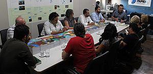 Reunião na Fapeal discute liberação de R$ 200 mil para projeto de combate ao vazamento de óleo no litoral alagoano