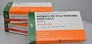 Municípios de AL podem solicitar o agendamento para retirada da nova remessa de doses da CoronaVac